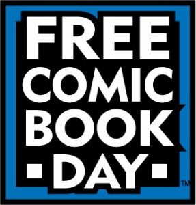 Free Comic Book Day is Saturday, May 5!