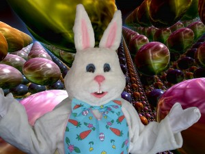 Just Plain Silly is working with the Easter Bunny!