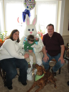 Hire the Easter Bunny for your next Spring Event!